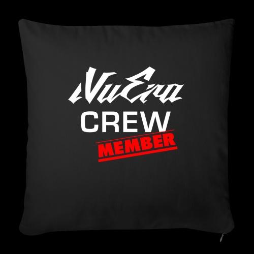 NuEra Crew Logo 2018 - Sofakissenbezug 44 x 44 cm