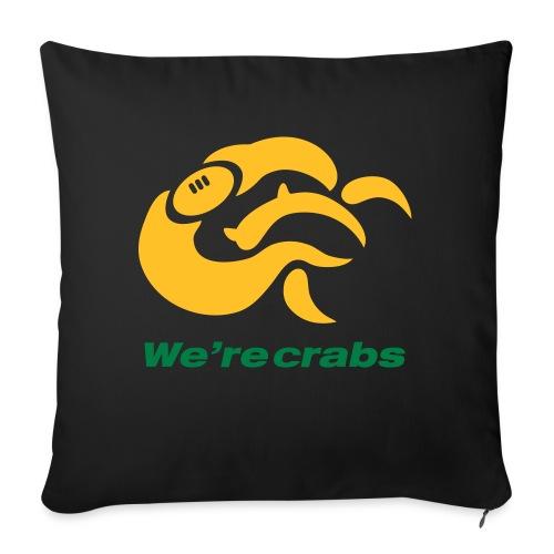 Crazycrab_Australia - Copricuscino per divano, 45 x 45 cm
