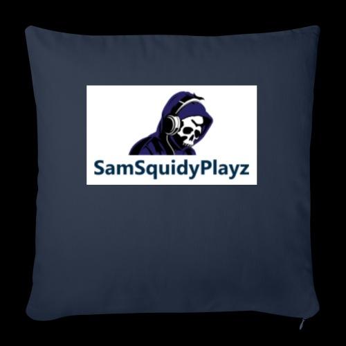 SamSquidyplayz skeleton - Sofa pillowcase 17,3'' x 17,3'' (45 x 45 cm)