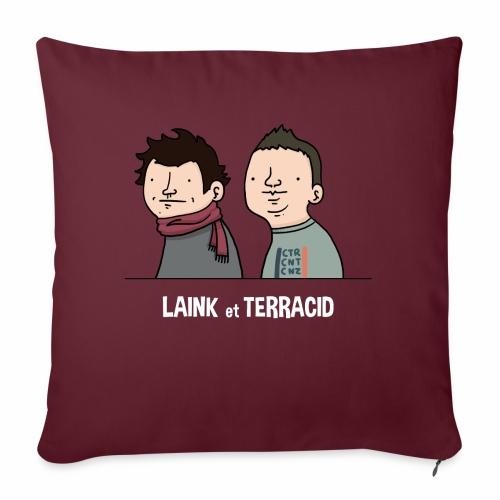 Laink et Terracid old - Housse de coussin décorative 45x 45cm