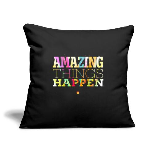 Amazing Things Happen - Simplified - Sofa pillowcase 17,3'' x 17,3'' (45 x 45 cm)