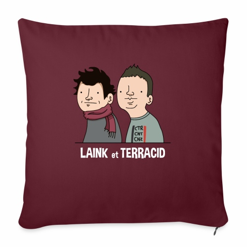 Laink et Terracid - Housse de coussin décorative 45x 45cm