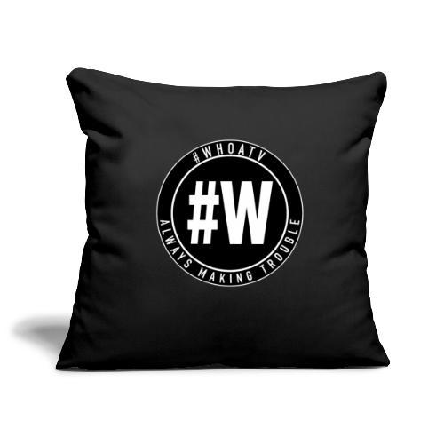 WHOA TV - Sofa pillowcase 17,3'' x 17,3'' (45 x 45 cm)