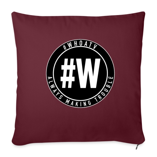 WHOA TV - Sofa pillowcase 17,3'' x 17,3'' (45 x 45 cm)
