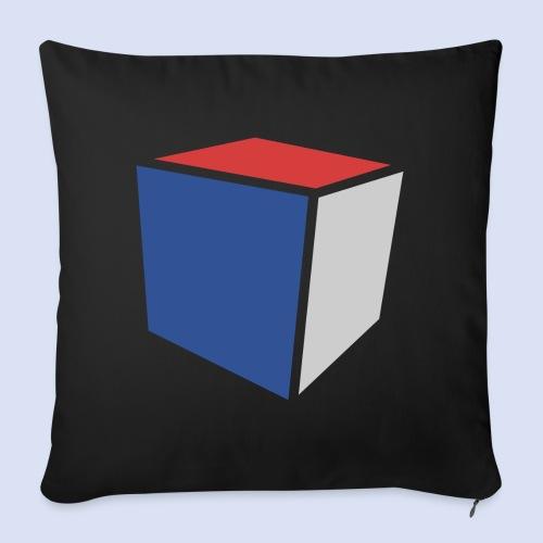 Cube Minimaliste - Housse de coussin décorative 45x 45cm