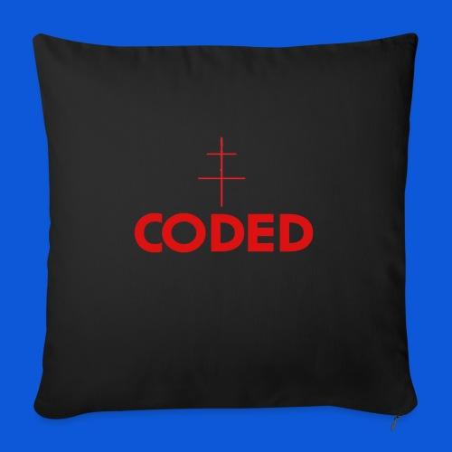 accessories merch - Sofa pillowcase 17,3'' x 17,3'' (45 x 45 cm)