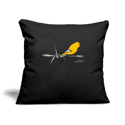 bird-spread - Housse de coussin décorative 45x 45cm