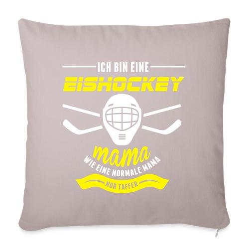 eishockeymama - Sofakissenbezug 44 x 44 cm