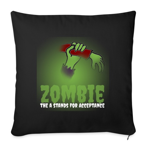 Zombie The A stands for - Sofa pillowcase 17,3'' x 17,3'' (45 x 45 cm)