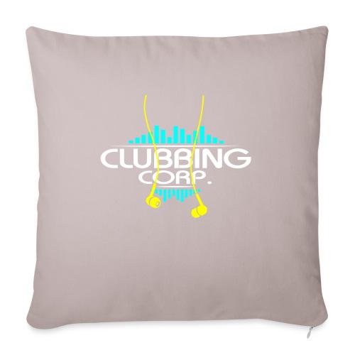 Clubbing Corp. by Florian VIRIOT - Housse de coussin décorative 45x 45cm