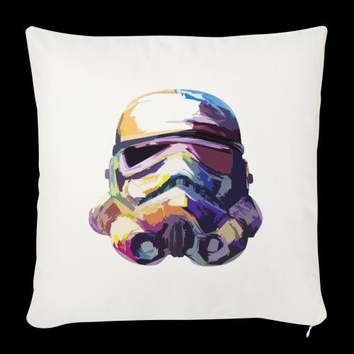 Stormtrooper with Hope - Sofa pillowcase 17,3'' x 17,3'' (45 x 45 cm)