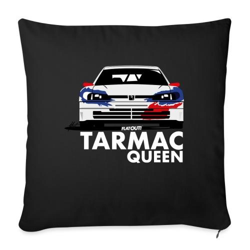 306 Maxi Rallye Tarmac Queen - Housse de coussin décorative 45x 45cm