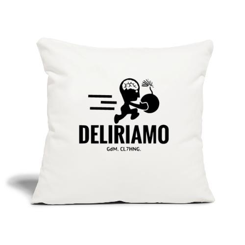 DELIRIAMO CLOTHING BRAINBOMB - Copricuscino per divano, 45 x 45 cm