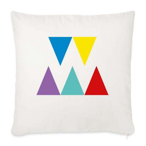 Logo We are les filles - Housse de coussin décorative 45x 45cm