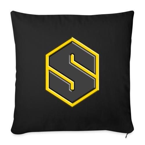 Starnas 3D Logo - Sofa pillowcase 17,3'' x 17,3'' (45 x 45 cm)