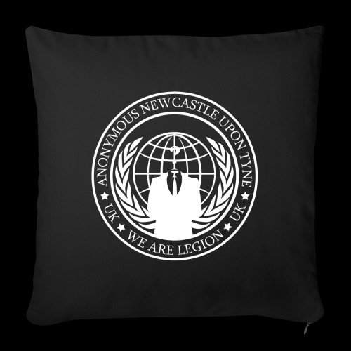 Anonymous Newcastle Upon Tyne - Sofa pillowcase 17,3'' x 17,3'' (45 x 45 cm)