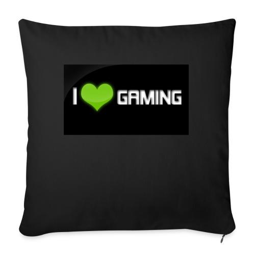 I Love Gaming Shadow Gamer - Sofakissenbezug 44 x 44 cm