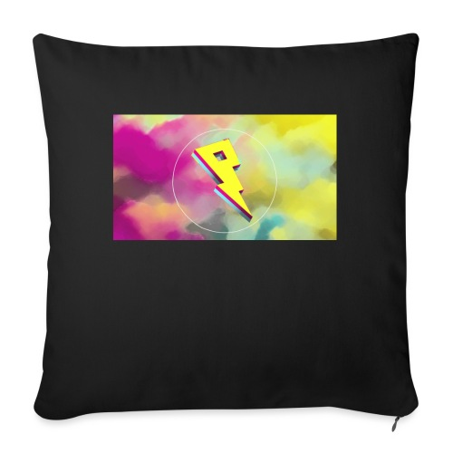 lightning bolt - Sofa pillowcase 17,3'' x 17,3'' (45 x 45 cm)