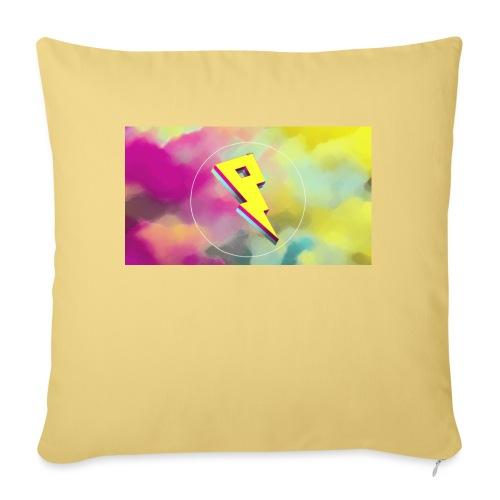 lightning bolt - Sofa pillowcase 17,3'' x 17,3'' (45 x 45 cm)