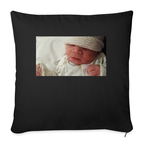 baby brother - Sofa pillowcase 17,3'' x 17,3'' (45 x 45 cm)