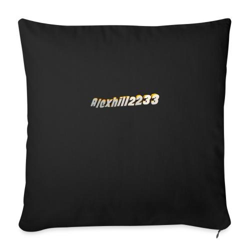 Alexhill2233 Logo - Sofa pillowcase 17,3'' x 17,3'' (45 x 45 cm)