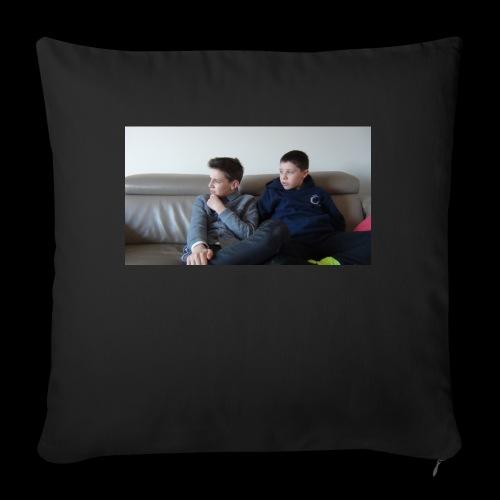 t-shirt de feyskes hd - Housse de coussin décorative 45x 45cm