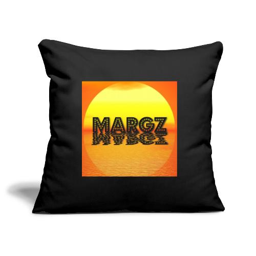 Sunset over Margz - Sofa pillowcase 17,3'' x 17,3'' (45 x 45 cm)