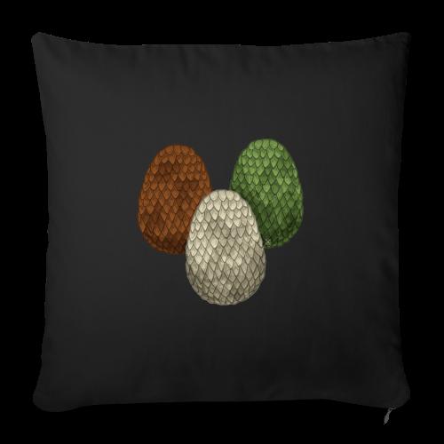 Dragon eggs - Funda de cojín, 44 x 44 cm