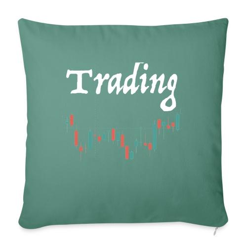 Trading lovers T-shirt - Copricuscino per divano, 45 x 45 cm
