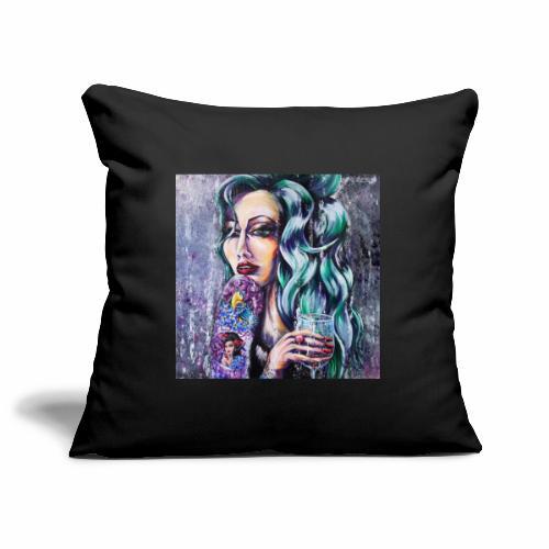 Fly Free Songbird - Sofa pillowcase 17,3'' x 17,3'' (45 x 45 cm)