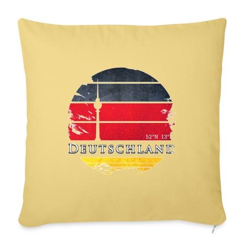 DEUTSCHLAND 2 - Sofa pillowcase 17,3'' x 17,3'' (45 x 45 cm)