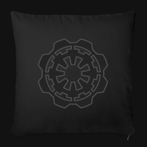 DarkerImage Black on Black (LIMITED) - Sofa pillowcase 17,3'' x 17,3'' (45 x 45 cm)