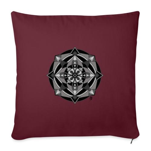 Mandala Mosaïque - Housse de coussin décorative 45x 45cm