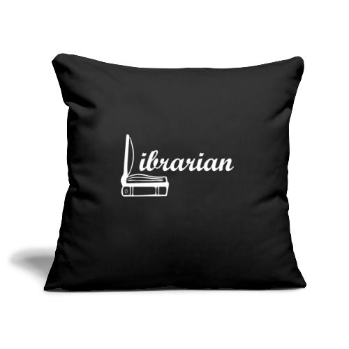 0325 Librarian Librarian Cool design - Sofa pillowcase 17,3'' x 17,3'' (45 x 45 cm)
