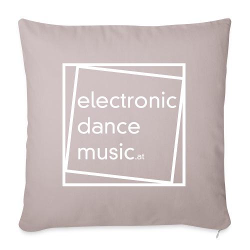 electronicdancemusic.at weiß - Sofakissenbezug 44 x 44 cm