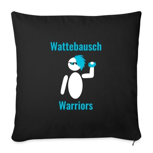 Wattebausch Warriors Türkis - Sofakissenbezug 44 x 44 cm