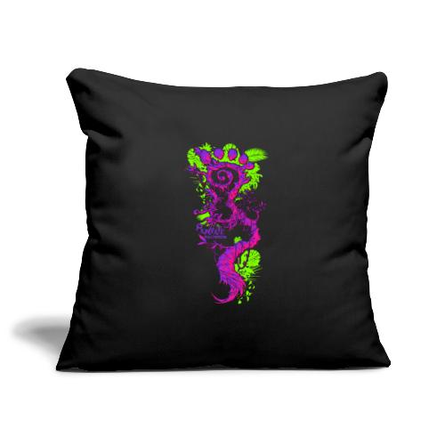 FootMoss logo - Sofa pillowcase 17,3'' x 17,3'' (45 x 45 cm)