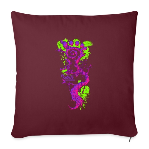 FootMoss logo - Sofa pillowcase 17,3'' x 17,3'' (45 x 45 cm)