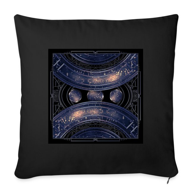 Universe outer space blue outer space galaxy art