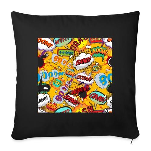 Comic Book Pop Art Cool Fun Shout Outs Graphic - Sofa pillowcase 17,3'' x 17,3'' (45 x 45 cm)