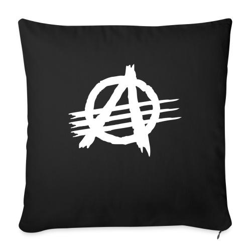 AGaiNST ALL AuTHoRiTieS - Sofa pillowcase 17,3'' x 17,3'' (45 x 45 cm)