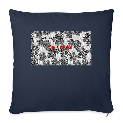JE ME FOUS DE TOI 3 edite - Housse de coussin décorative 45x 45cm