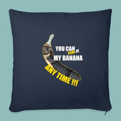 Peak my banana! - Sofakissenbezug 44 x 44 cm