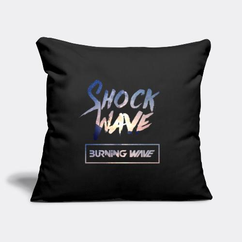 Burning Wave - Shock Wave - Housse de coussin décorative 45 x 45 cm