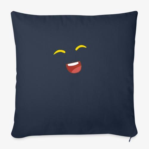 banana - Sofa pillowcase 17,3'' x 17,3'' (45 x 45 cm)