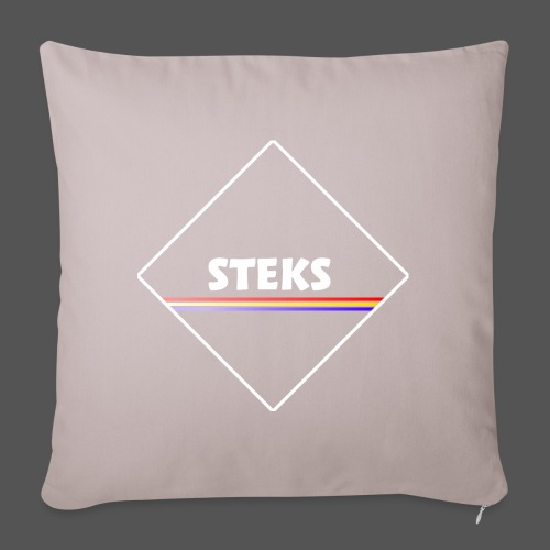 3Color STEKS™ Logo - Sierkussenhoes, 45 x 45 cm