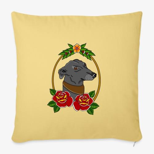 Blue Greyhound - Sofa pillowcase 17,3'' x 17,3'' (45 x 45 cm)
