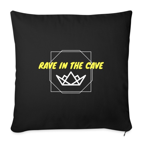 Rave In The Cave - Sofa pillowcase 17,3'' x 17,3'' (45 x 45 cm)