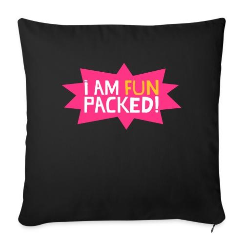Fun packed - Sofa pillowcase 17,3'' x 17,3'' (45 x 45 cm)