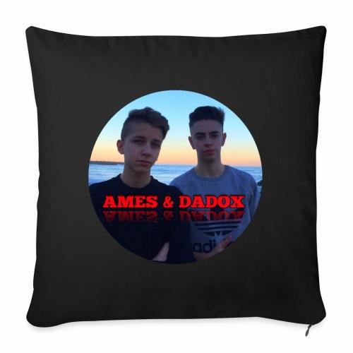 AMES & DADOX - Copricuscino per divano, 45 x 45 cm